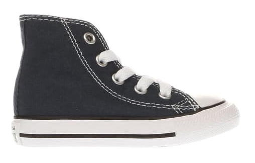 Navy kids converse trainers