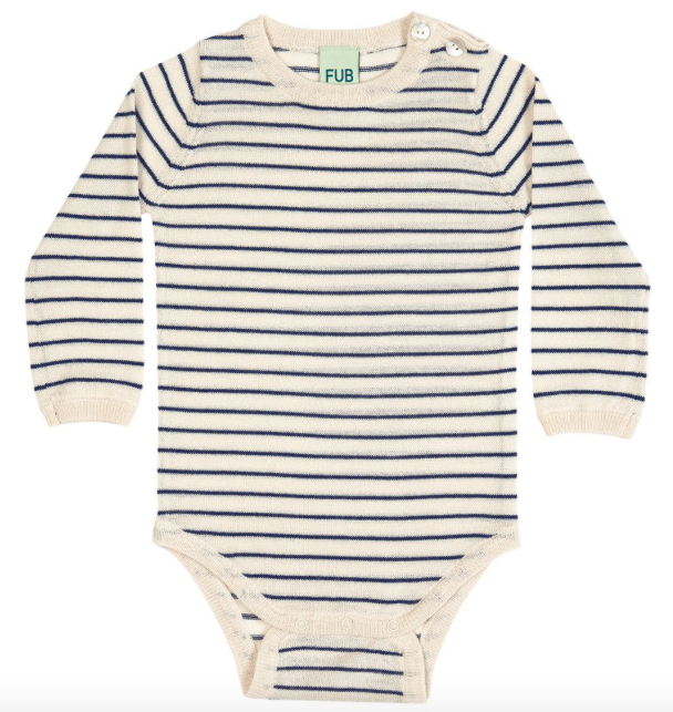 Striped-knitted-bodysuit