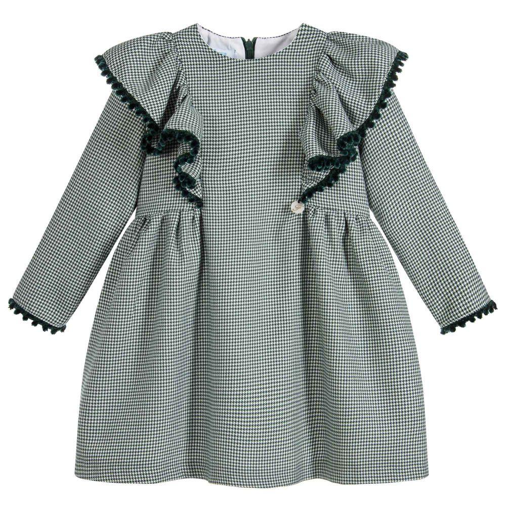 green-houndstooth-frill-dress