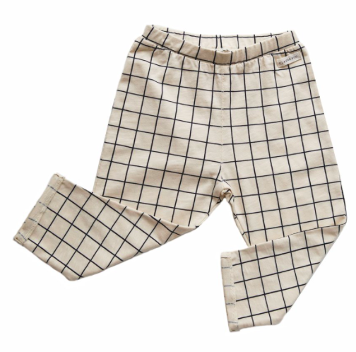grid-print-baby-trousers