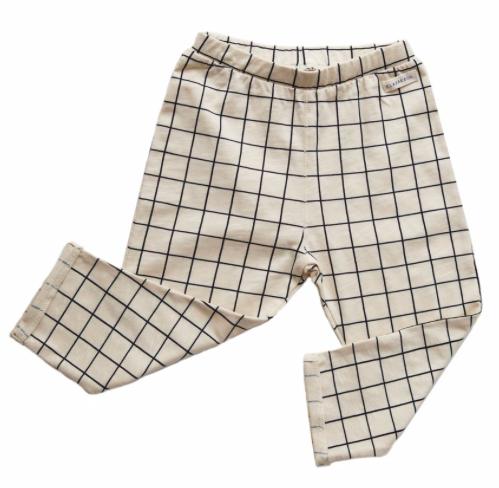 grid-print-leggings