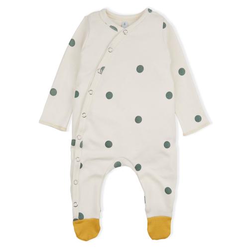 Dotty baby sleepsuit