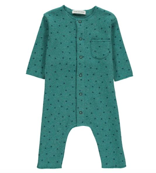 Baby star jumpsuit