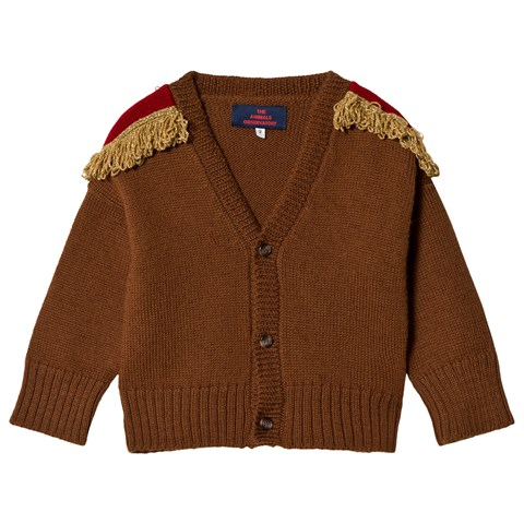 Brown-fringed-cardigan