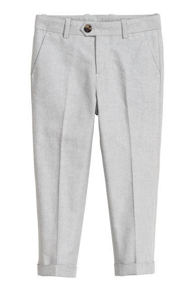 Grey-cotton-suit-trousers