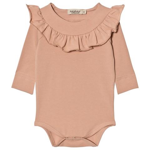Pink baby bodysuit