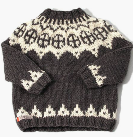 Wool kids sweater
