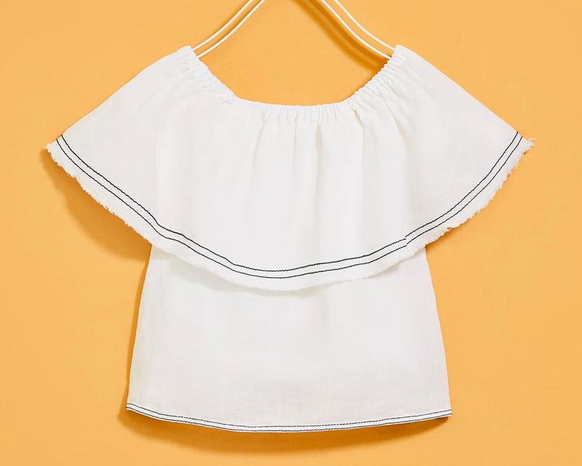 white-ruffle-girls-top