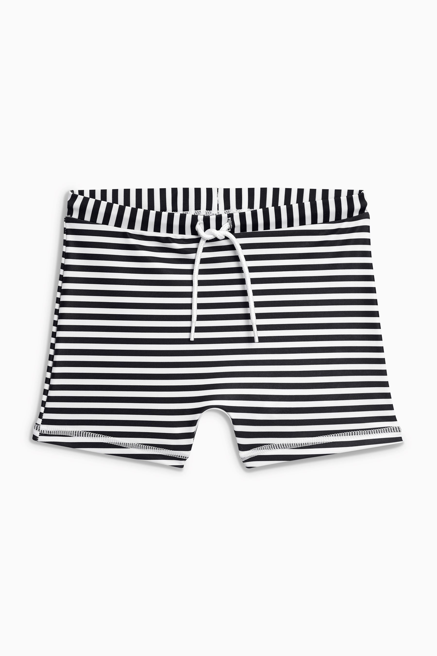 black-white-stripe-swim-trunks