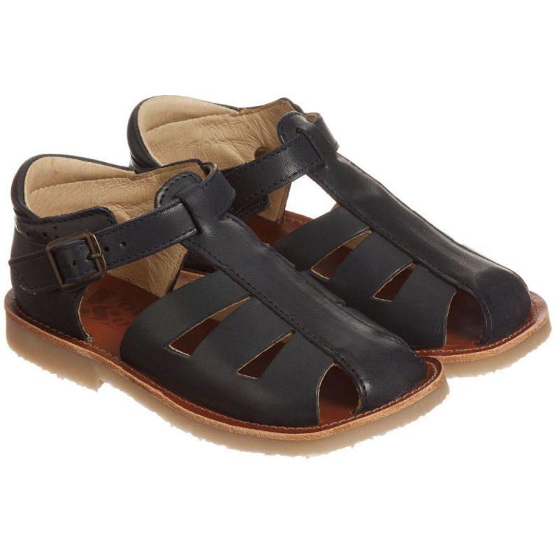 boys-blue-leather-sandals
