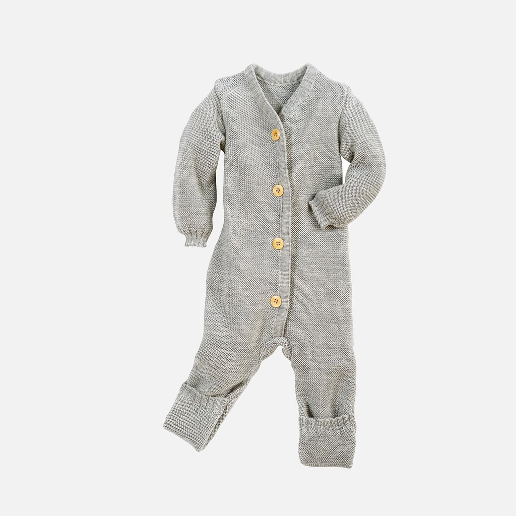 Knitted baby suit