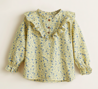 floral-girls-blouse