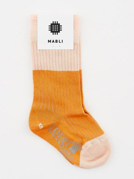 girls-mustard-knee-socks