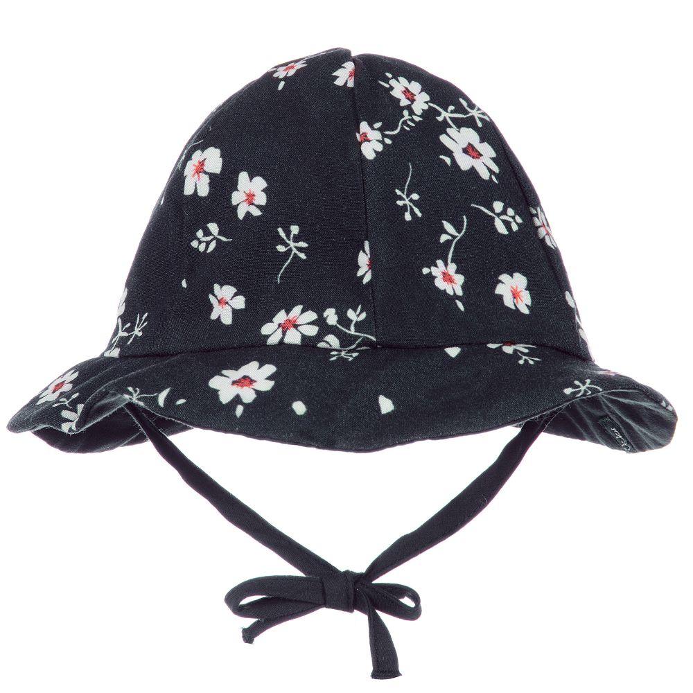 girls-navy-floral-sun-hat