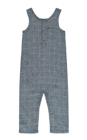grey-checked-chambray-jumpsuit