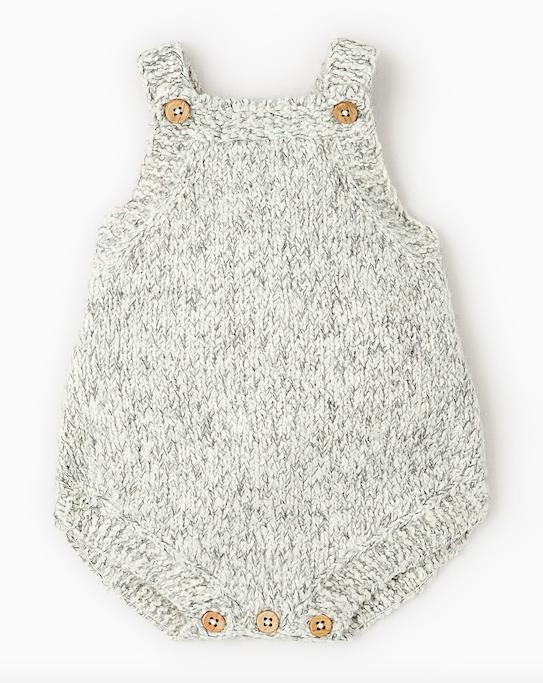 grey-knit-baby-romper