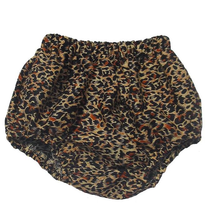 Leopard print bloomers