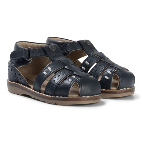 navy-leather-closed-toe-sandals