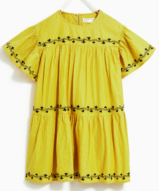 yellow-embroidered-dress