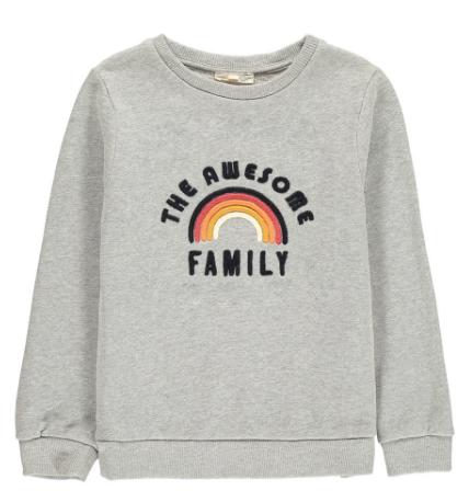 Kids grey sweatshirt