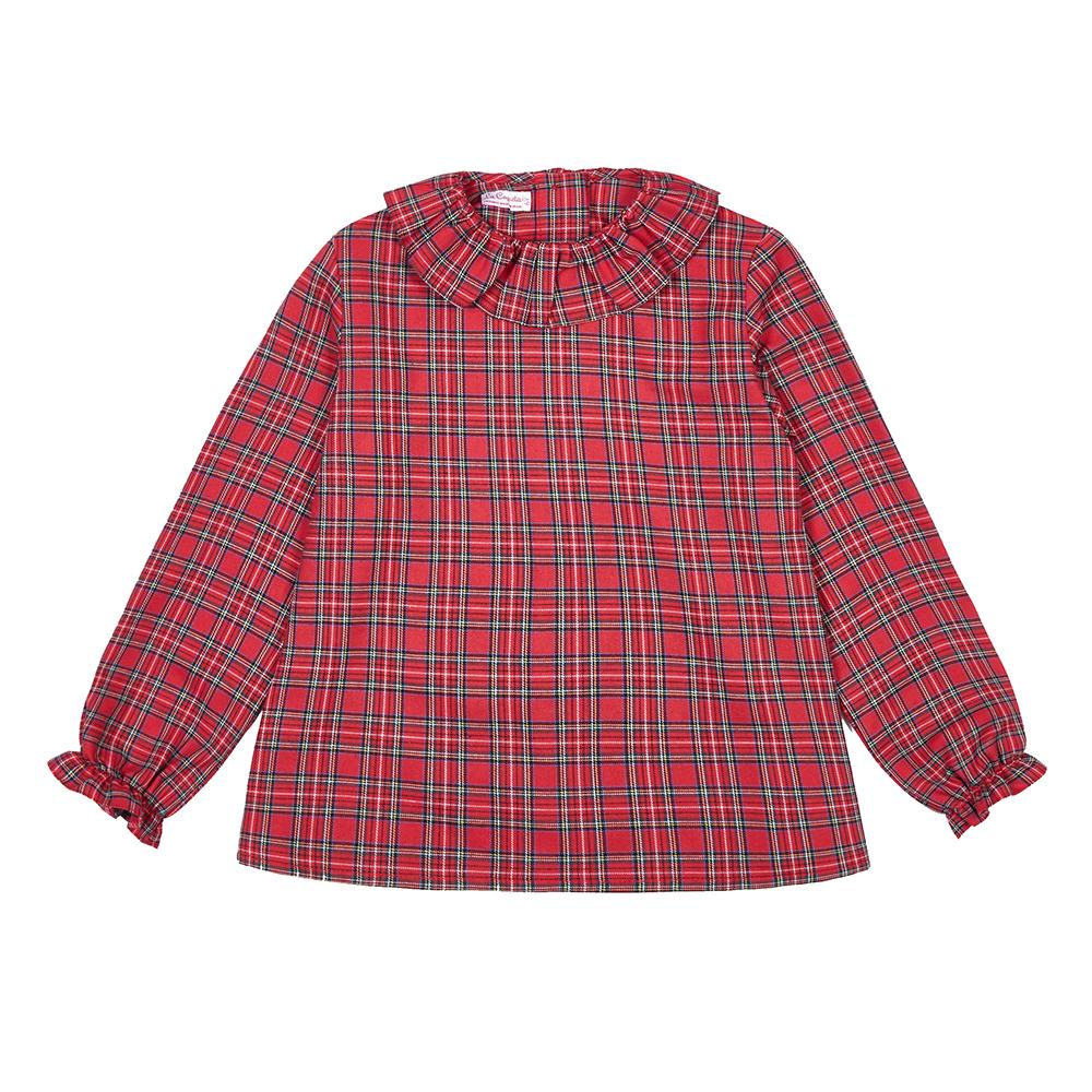 Girls tartan shirt