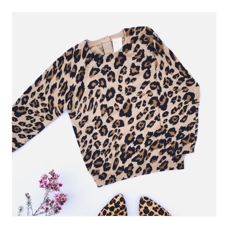Leopard-print-baby-jumper