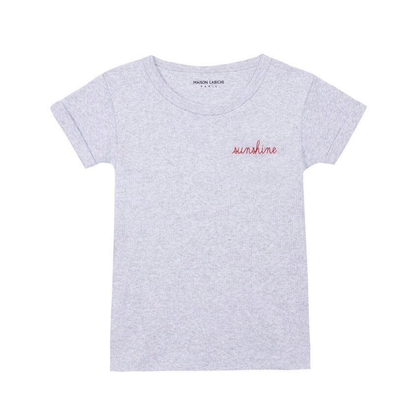 Girls grey T-shirt