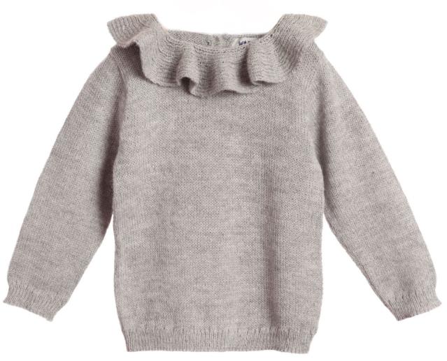 kids grey jumper