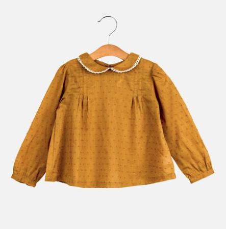 Girls spot blouse