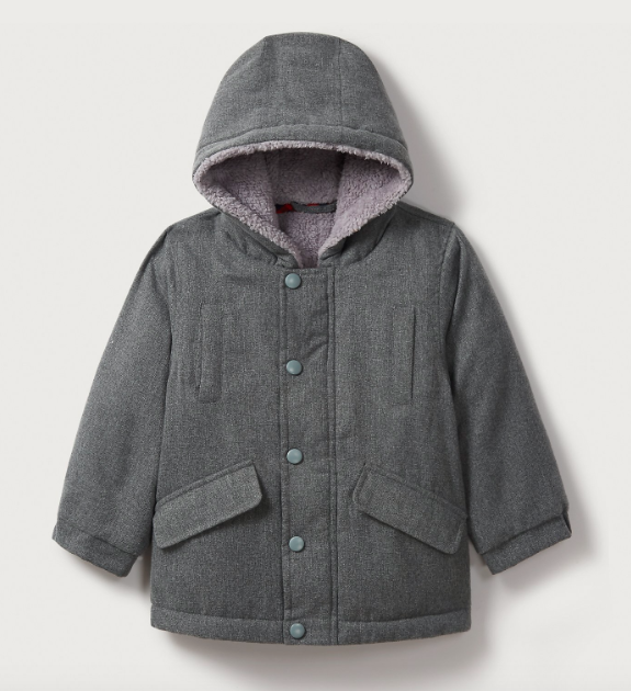 Boys grey coat