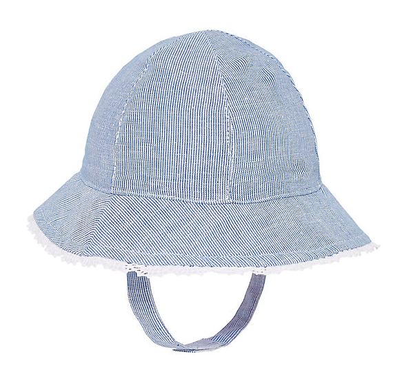 blue-striped-sunhat