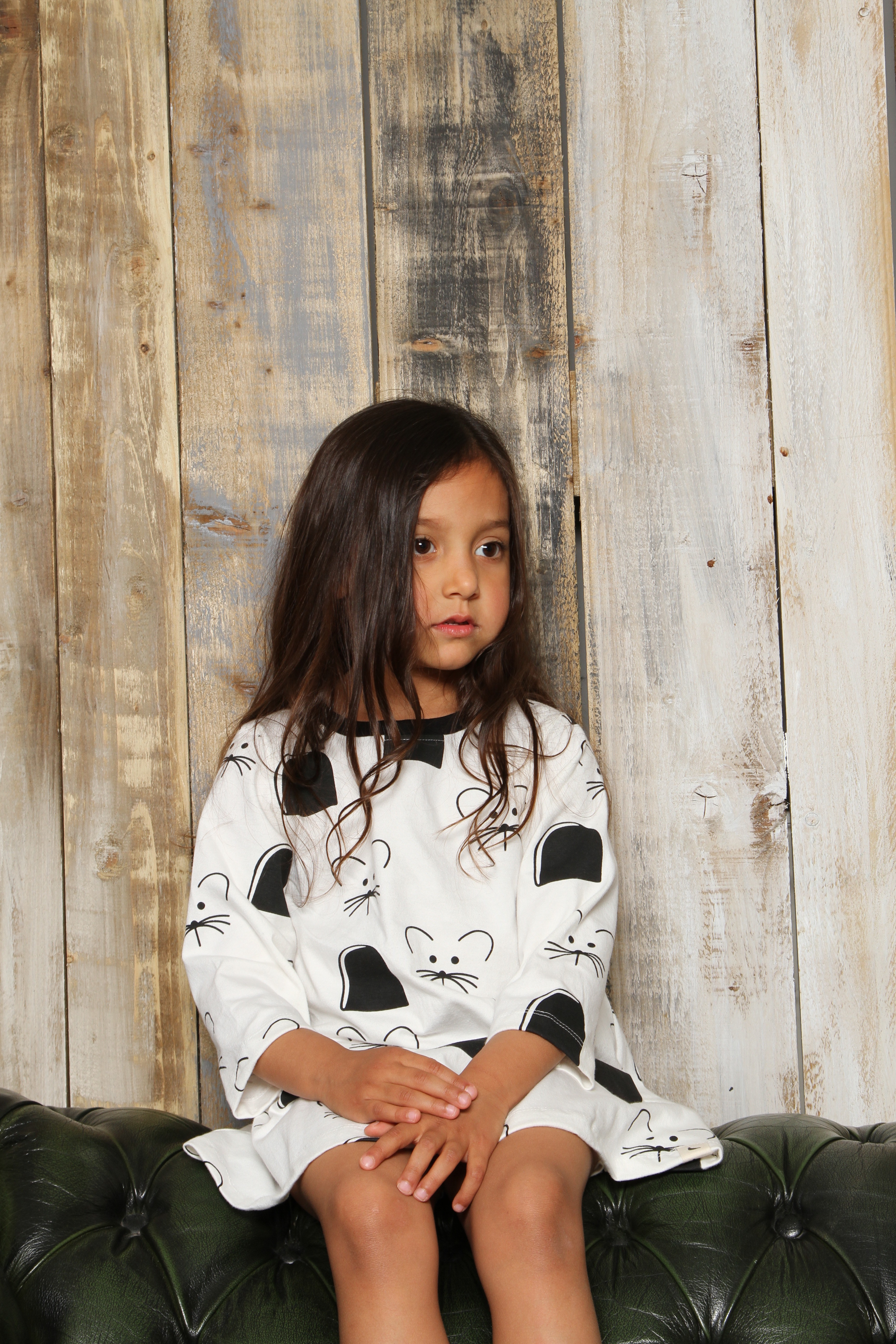 mouse-print-dress