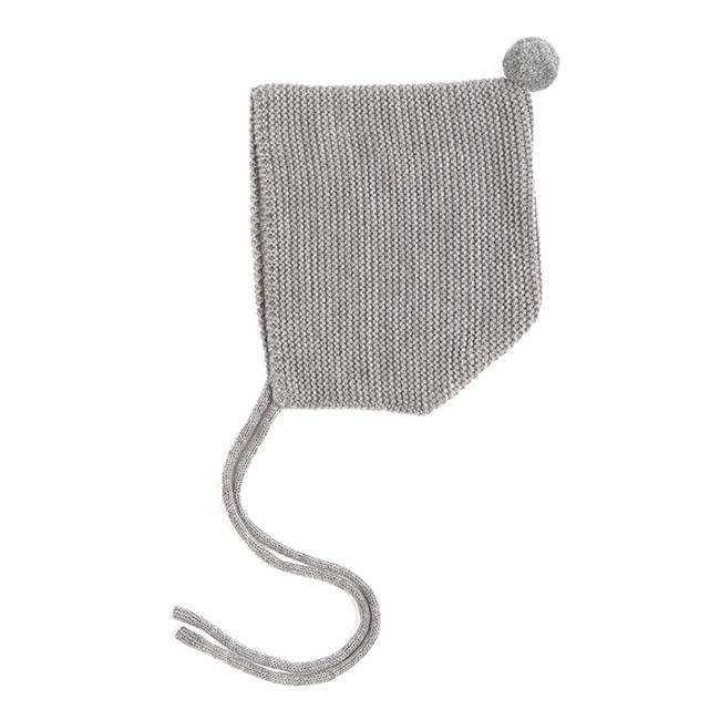 baby-grey-knit-pom-pom-bonnet