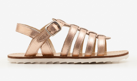 kids-gold-leather-sandals
