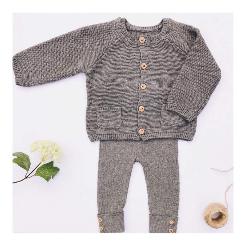 knitted-baby-cardigans-and-leggings-set