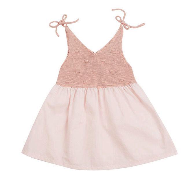 girls-pink-summer-dress