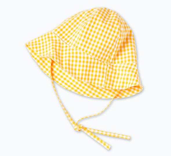 baby-yellow-gingham-sun-hat