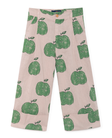 apple-print-trousers