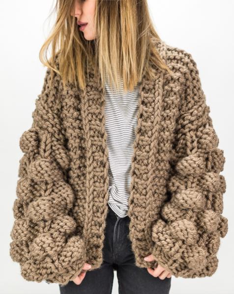 chunky-knit-cardigan