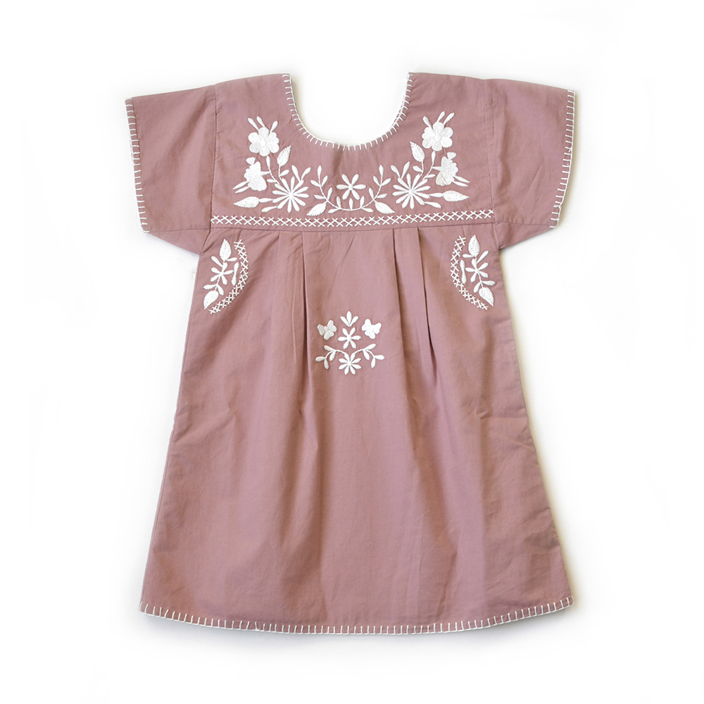 girls-pink-embroidered-dress