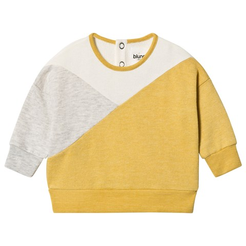 yellow-colour-block-sweater