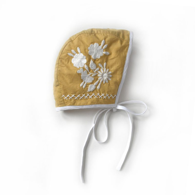 yellow-embroidered-bonnet