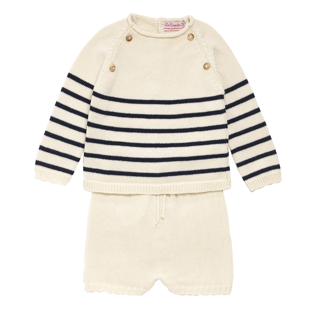 Ivory-knit-baby-set