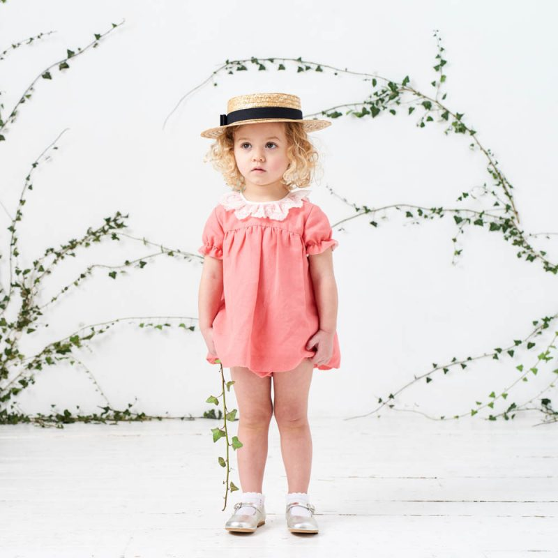 Pink-frill-collar-baby-set