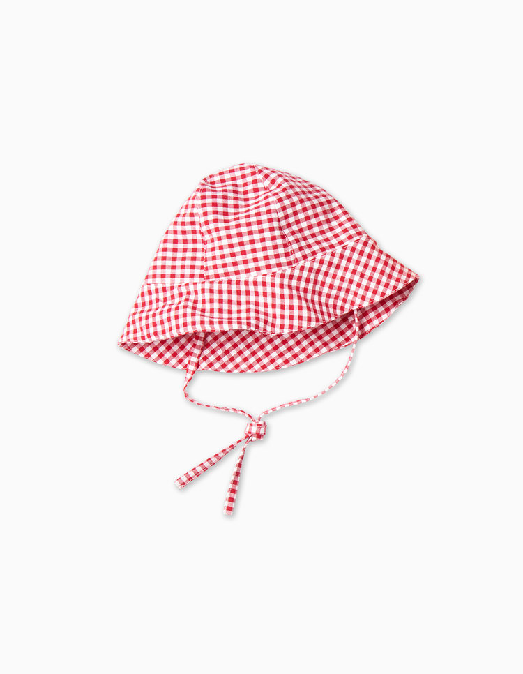 Red-gingham-sun-hat