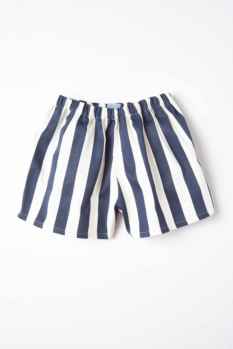 navy-striped-shorts