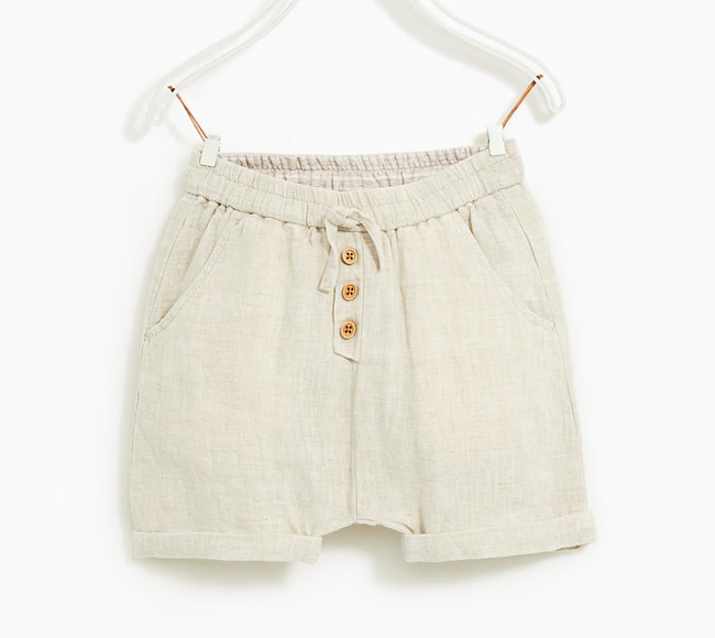 Linen-baby-shorts
