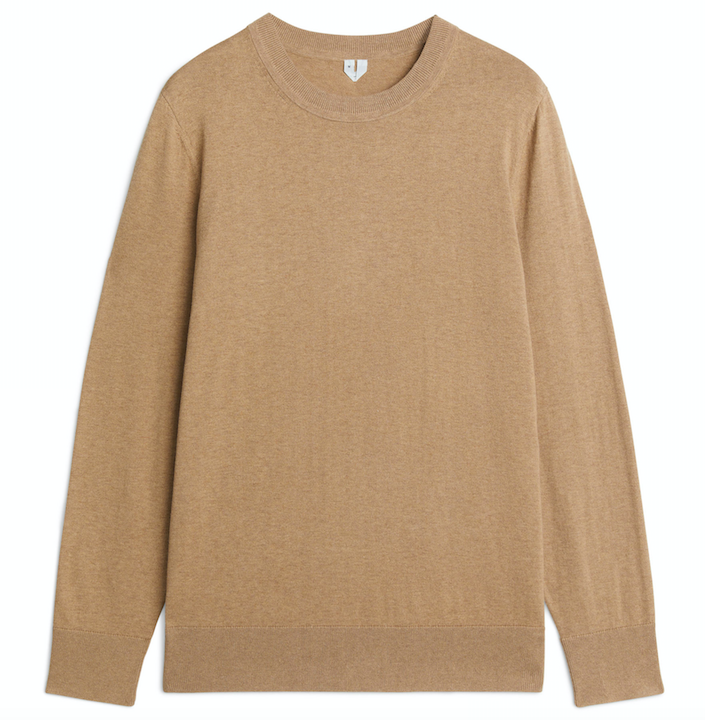 arket-mens-camel-sweater
