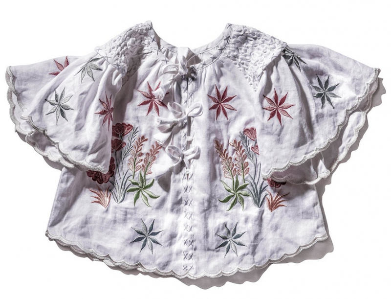 white-botanical-smock-top