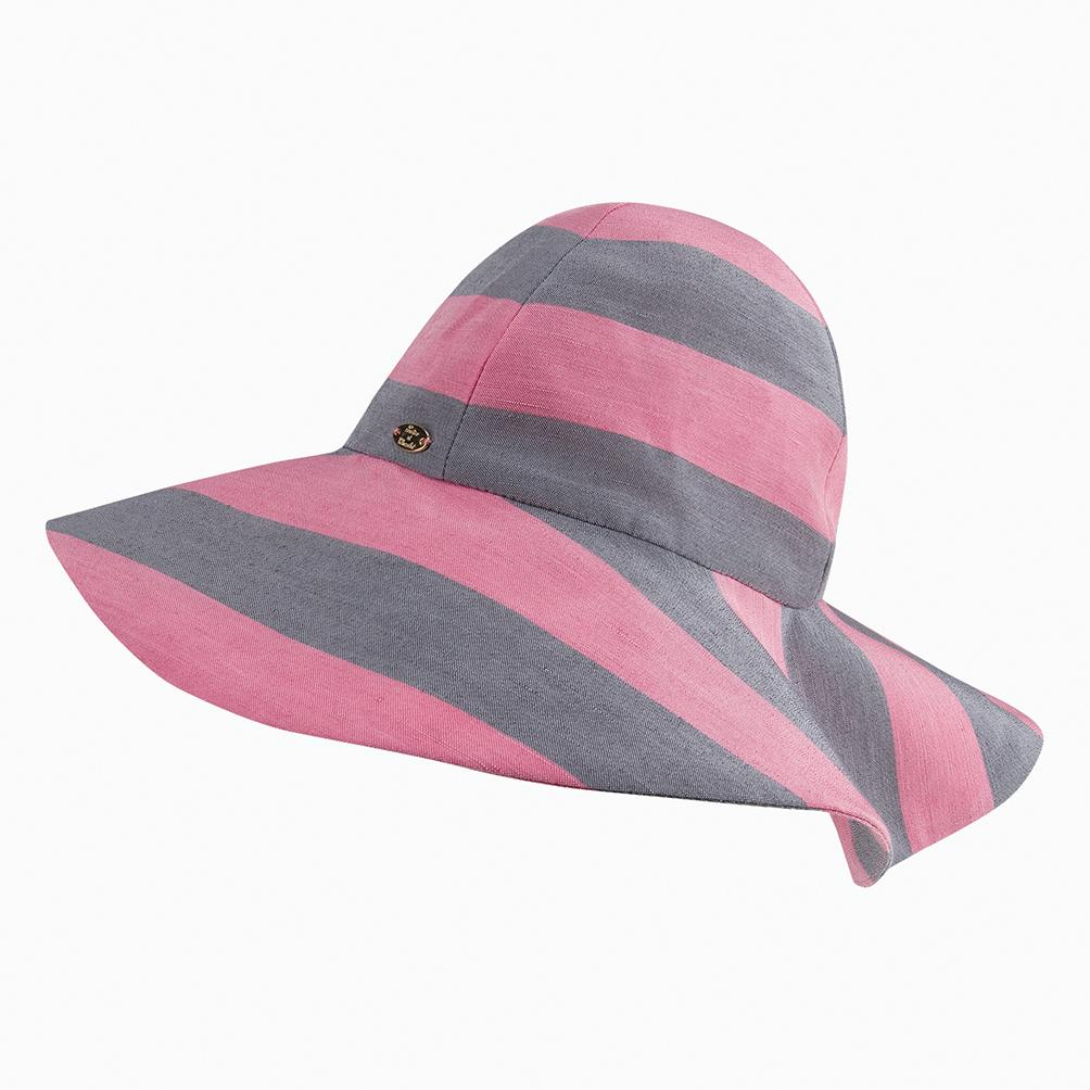 pink-striped-girls-sun-hat